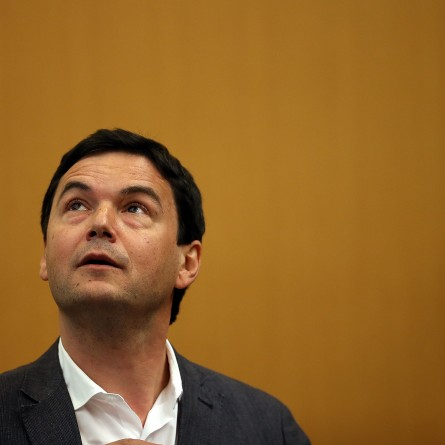 Best Selling Economist Author Thomas Piketty Speaks At UC Berkeley