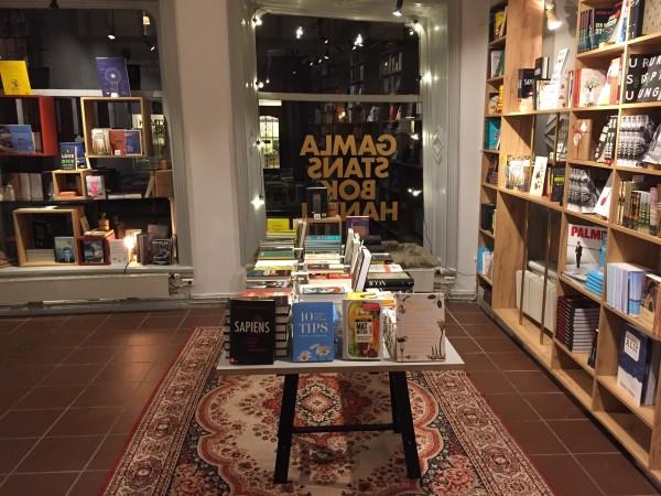Ingen kontakt med svensk bokhandlare