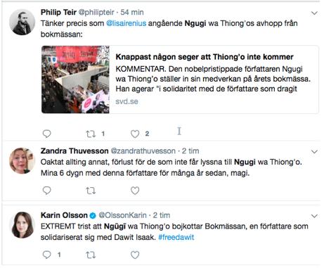 Twitter Ngugi